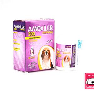 ANTIBIÓTICO AMOXILER 200 MG  50ml (polvo para suspensión oral)