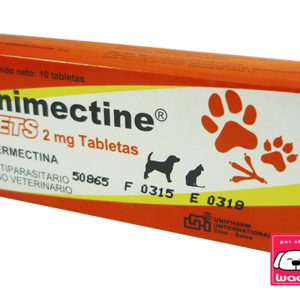 UNIMECTINE 2 MG 10 TABLETAS (Ivermectina)